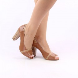 PeepToe Salto Bloco Soft Light